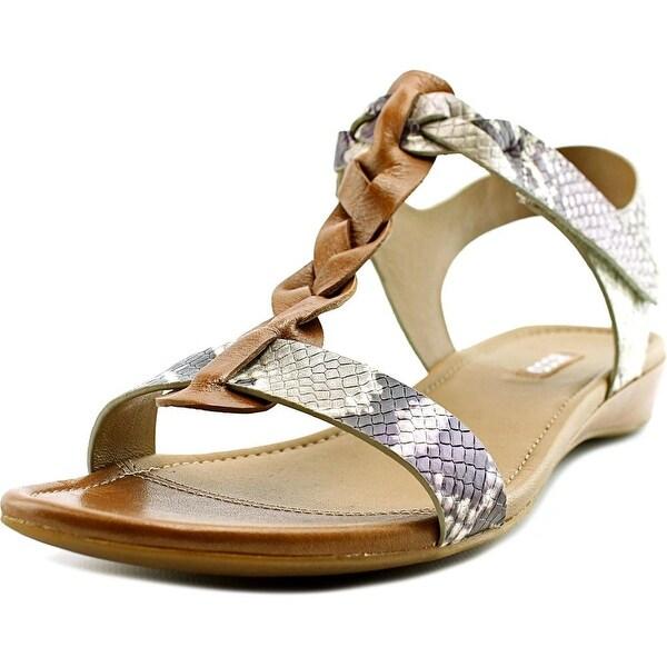 Ecco Bouillon Sandal II Women Open Toe Leather Multi Color Gladiator Sandal