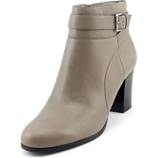 Cole Haan Rhinecliff Bootie Women Round Toe Leather Gray Bootie