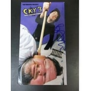 Signed Margera Bam CKY3 VHS Tape Cover With Tape autographed
