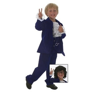 Deluxe Child 60's Swinger Costume