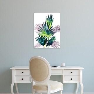Easy Art Prints Grace Popp's 'Twilight Palms III' Premium Canvas Art