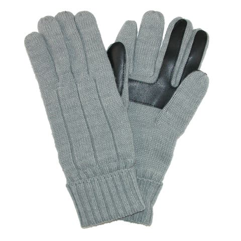 Isotoner Men's SmartDri Knit Smartouch Winter Glove