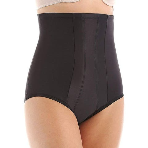 Miraclesuit Womens Shapewear Jet Black Size Small S Briefs Slimming