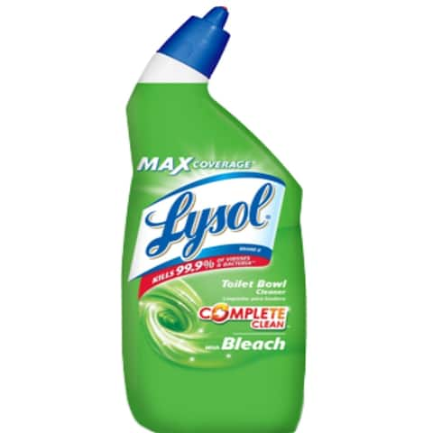 Lysol 1920075055 Power Toilet Bowl Cleaner With Bleach, 24 Oz.