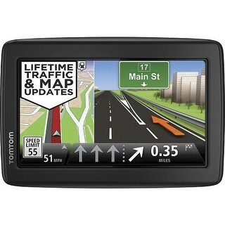 TomTom VIA 1515TM 5-inch Automotive GPS w/ Lifetime Traffic & Map Updates