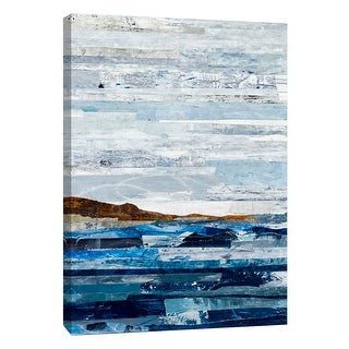 """PTM Images 9-108509  PTM Canvas Collection 10"""" x 8"""" - """"Linear Progression 2"""" Giclee Beaches Art Print on Canvas"""