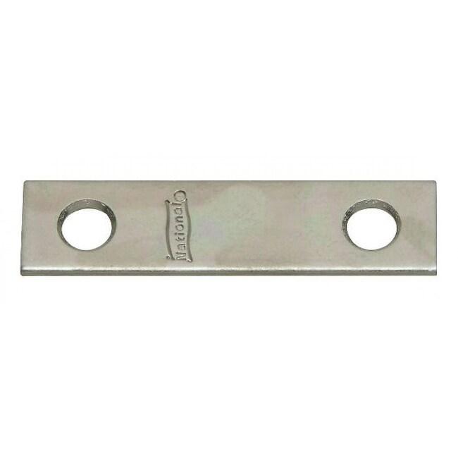 National Hardware N114-314 Mending Plates, 2 x 1/2, Zinc, 4 Pack