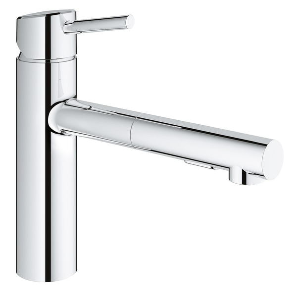 Shop Grohe 31 453 Concetto Pull Out Kitchen Faucet With 2 Function