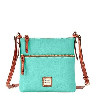 Dooney & Bourke All Weather Leather Letter Carrier (Introduced by Dooney & Bourke at $168 in Jan 2014) - Mint