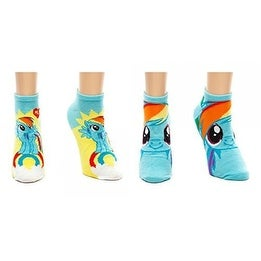 My Little Pony Rainbow Dash Ankle Socks - Set of Two Pairs