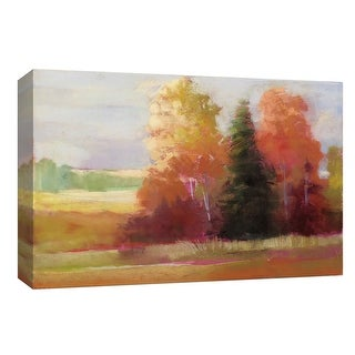"""PTM Images 9-153763  PTM Canvas Collection 8"""" x 10"""" - """"Autumn Leaves"""" Giclee Rural Art Print on Canvas"""