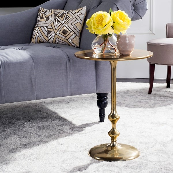 SAFAVIEH Hydra Round Side Table - Multi. Opens flyout.