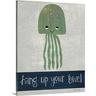 Katie Doucette Premium Thick-Wrap Canvas entitled Hang Up Your Towel