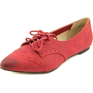 Restricted Like Me Women Wingtip Toe Leather Oxford
