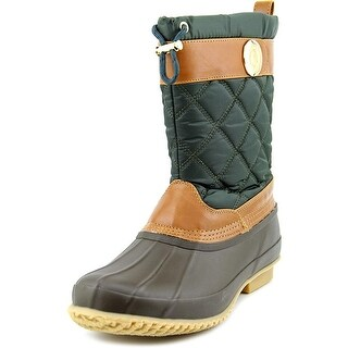 Tommy Hilfiger Arcadia Round Toe Canvas Rain Boot