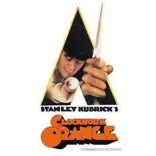 A Clockwork Orange Knife Tin Sign - Multi
