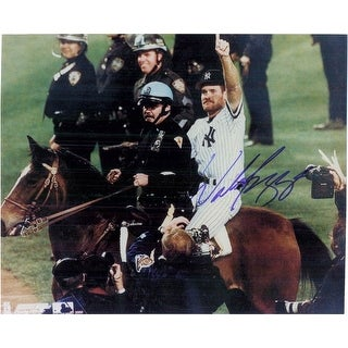 Signed Boggs Wade New York Yankees 8x10 Photo autographed
