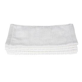 Everplush Diamond Jacquard Face Towel 6 Pack