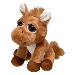 Gift Corral Western Kids Plush Bright Eyes Horse Brown 87-8564