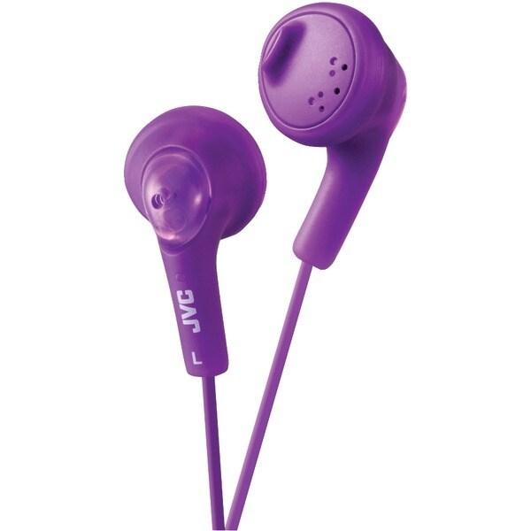 Jvc Haf160V Gumy(R) Earbuds (Violet)