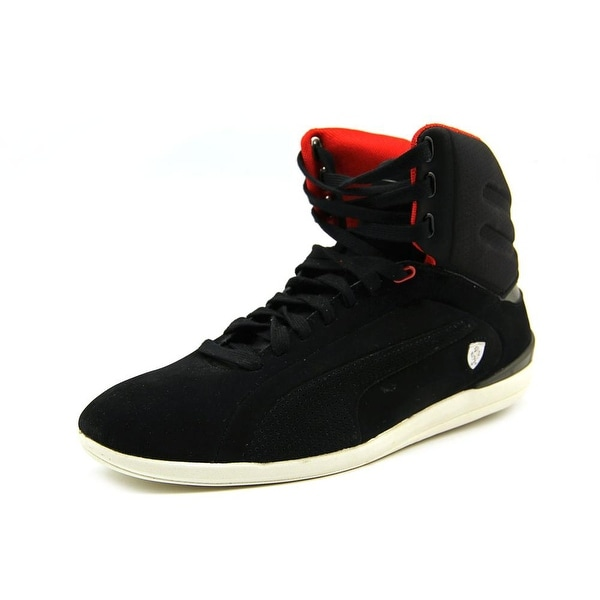 Puma Gigante Mid SF Mens Black/Black/Rosso Corsa Sneakers Shoes