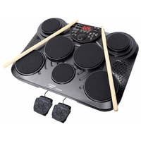 Electronic Table Digital Drum Kit Top with 7 Pad Digital Drum Kit