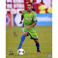 Clint Dempsey Seattle Sounders Dribbling 16x20 Photo
