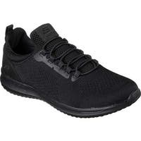 Skechers Men's Delson Brewton Sneaker Black/Black