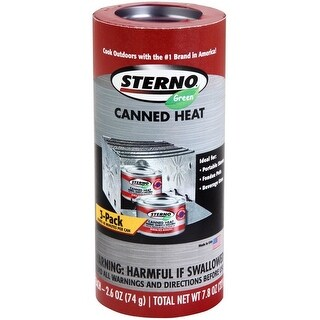 Sterno 20508 Outdoor Cooking Fuel, 2.6 Oz