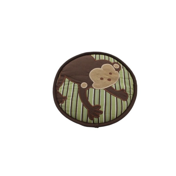 Kids Line Monkey Wall Decor Embroidered Baby Boy