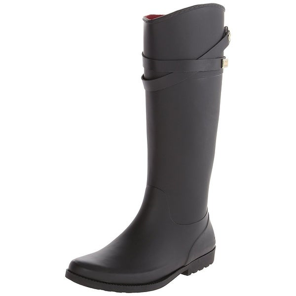 Tommy Hilfiger Womens Coree Rubber Almond Toe Knee High Cold Weather Boots