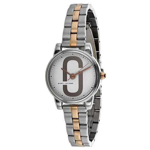 Marc Jacobs Women's Corie Silver Dial Watch - MJ3563 - One Size