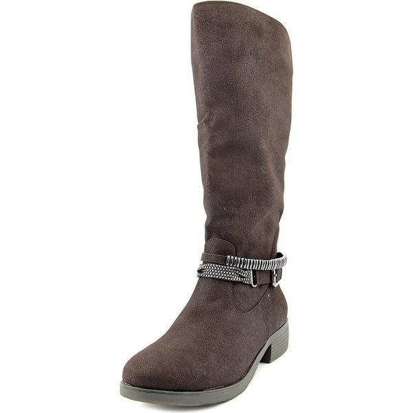 Style & Co Wardd Wide Calf Women Round Toe Synthetic Knee High Boot