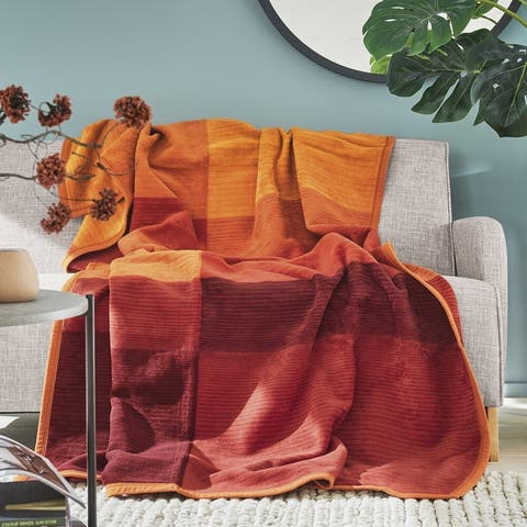 IBENA Oversized Blanket Throw Granada