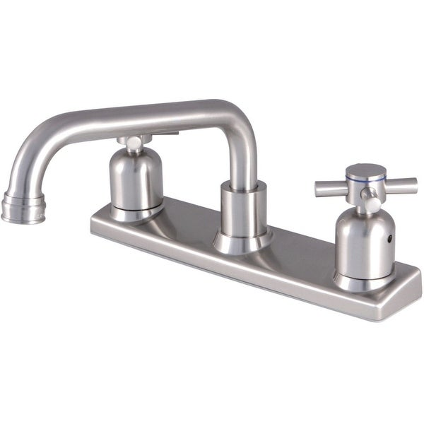 Kingston Brass FB213.DX Concord 1.8 GPM Widespread Kitchen Faucet with Duraseal Washerless Cartridge