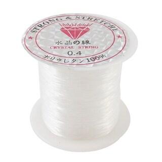 Unique Bargains 39Yds/36M 0.4# Beading Thread Nylon Spool Fishing Line