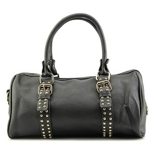 MG Collection Lizette Bowling Style Shoulder Bag Shoulder Bag - Black