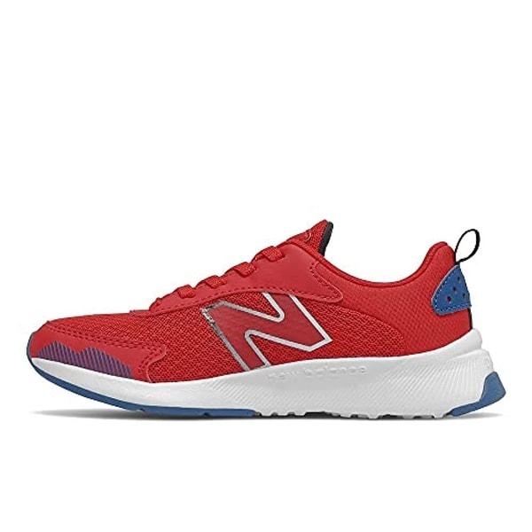 New Balance Boy's DynaSoft 545 V1 Lace-up Running Shoe, Team Red/Oxygen Blue/Black. Opens flyout.