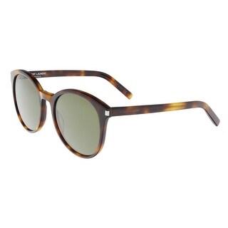 Saint Laurent SL CLASSIC 6-003 Havana Round Sunglasses