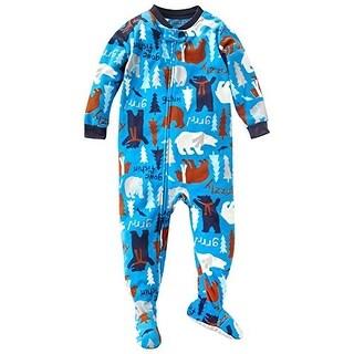 Carter's Little Boys' Footed 1 Piece Fleece Sleeper Pajamas