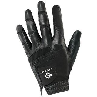 Bionic Men's StableGrip Natural Fit Left Hand Golf Glove - Black