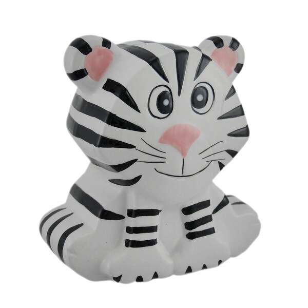 Shop Whimsical White And Black Siberian Tiger Kids Money
