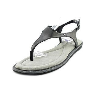 White Mountain Venda Women Open Toe Synthetic Black Thong Sandal