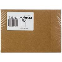 Papicolor A6 Folded Cards 50/Pkg-Kraft Brown