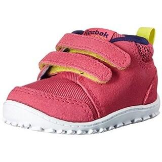 Reebok Girls Ventureflex Lead Toddler Slip On Athletic Shoes - 6 medium (b,m)