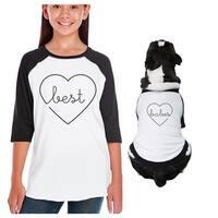 Best Babes Youth Pet Matching Baseball Raglan Tees Pet Owners Gifts