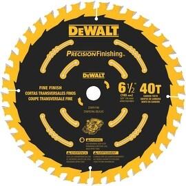 """DeWalt 6-1/2"""" 40T Saw Blade"""