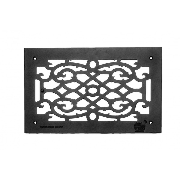 Heat Air Grille Cast Victorian Overall 10 x 16 | Renovator's Supply