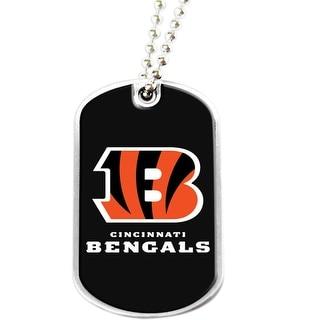 Cincinnati Bengals Dog Tag Necklace