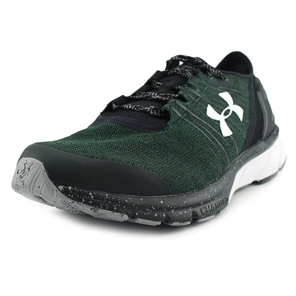 new product 6494f ec435 Under Armour Team Charged Bandit 2 Women Round Toe Synthetic Green Running  Shoe